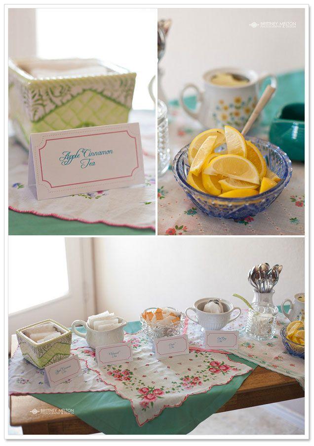 683b3f84f7c4 bridal shower  Allison s Tea-Themed Party