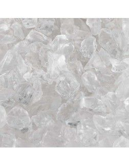 Glass Stones - Crystal (1 lb.)