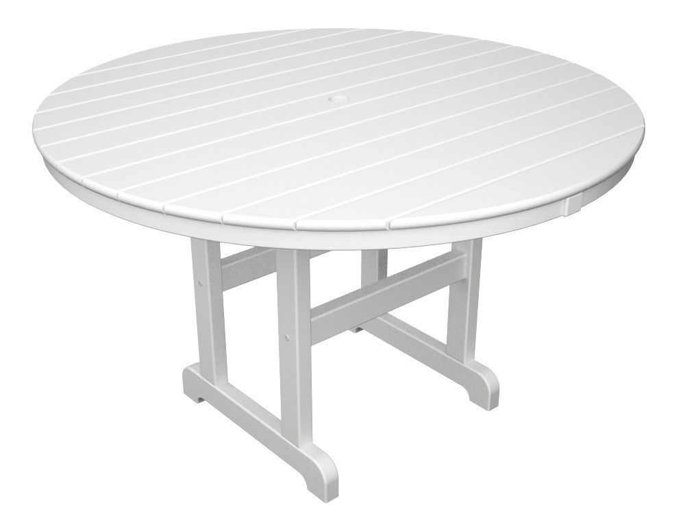 Polywood 48 La Casa Cafe Round Dining Table 48 Round Dining