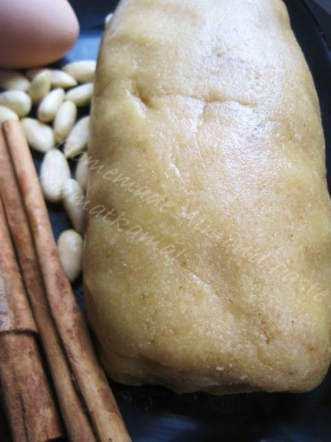 Moroccan Cuisine Marocaine عَقْدَةْ اللّوز/Homemade Almond Paste/P