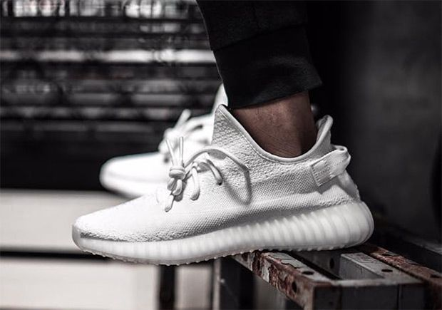 Yeezy Boost 350 V2 Triple White Cp9366 Release Info With Images