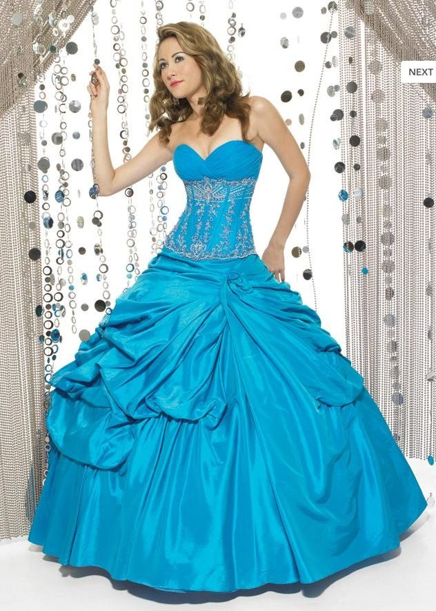 Beautiful Quinceanera dresses lady\'s Strapless dresses custom made ...
