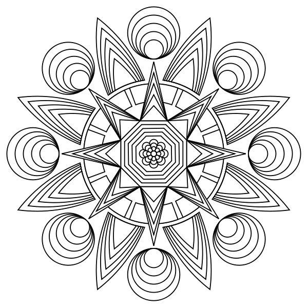 Free printable designs to color! Stress relief! http://printmandala ...