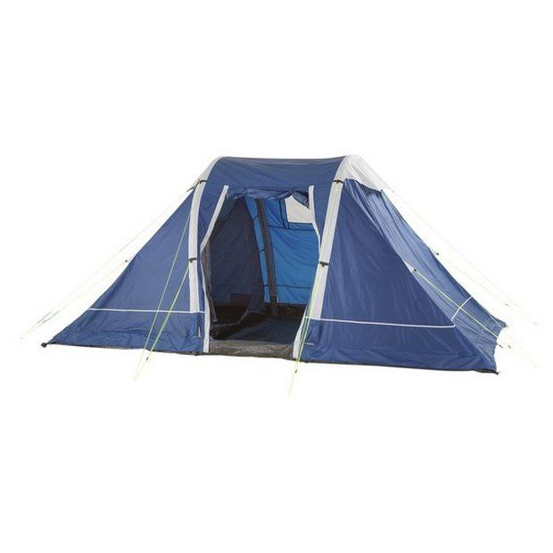 Buy Trespass 4 Man 2 Room Air Pump Up Tent At Argos