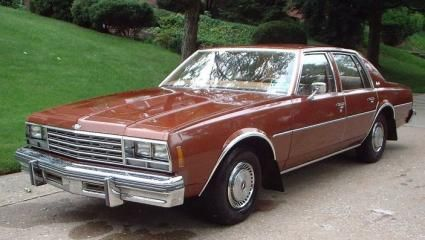 1978 Chevrolet (USA) Impala 5gen Sedan full range specs