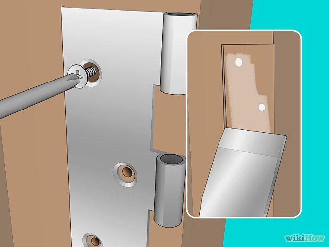 Install Or Replace Door Hinges Handy How Tos Pinterest Door Hinges Exterior Doors And Diy