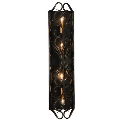 CrystalWorld Branch 4 Light Candle Sconce
