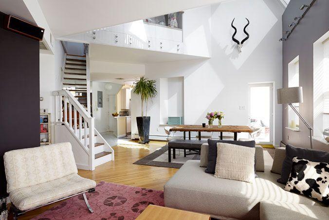 Contemporary Penthouse Duplex Loft Apartment Loft Apartment Loft Spaces Condos For Rent
