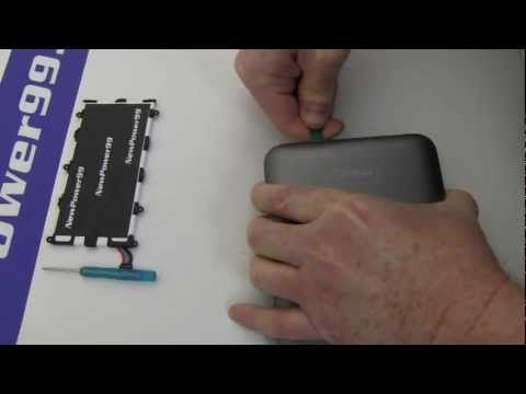▷ Samsung Galaxy Tab 2 7 0 Battery Replacement - YouTube