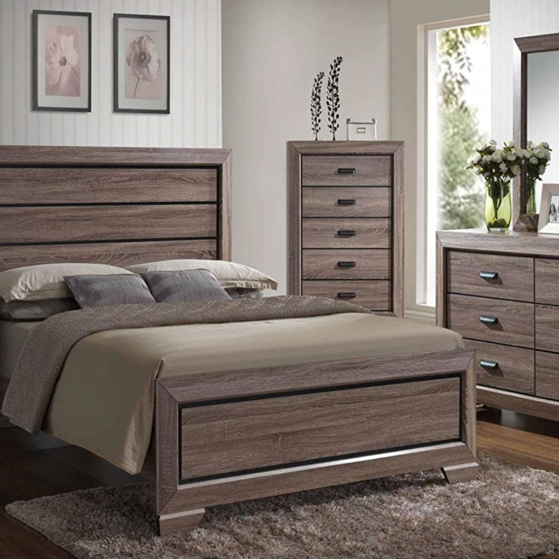 Kings Brand 6 Piece Queen Size Black Brown Wood Modern Bedroom Furniture Set Bed Modern Bedroom Furniture Sets Modern Bedroom Furniture Bedroom Furniture Sets [ 1500 x 1500 Pixel ]