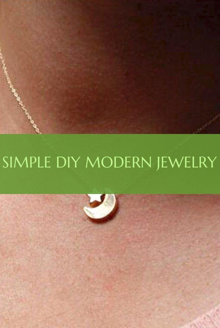 Simple diy modern jewelry