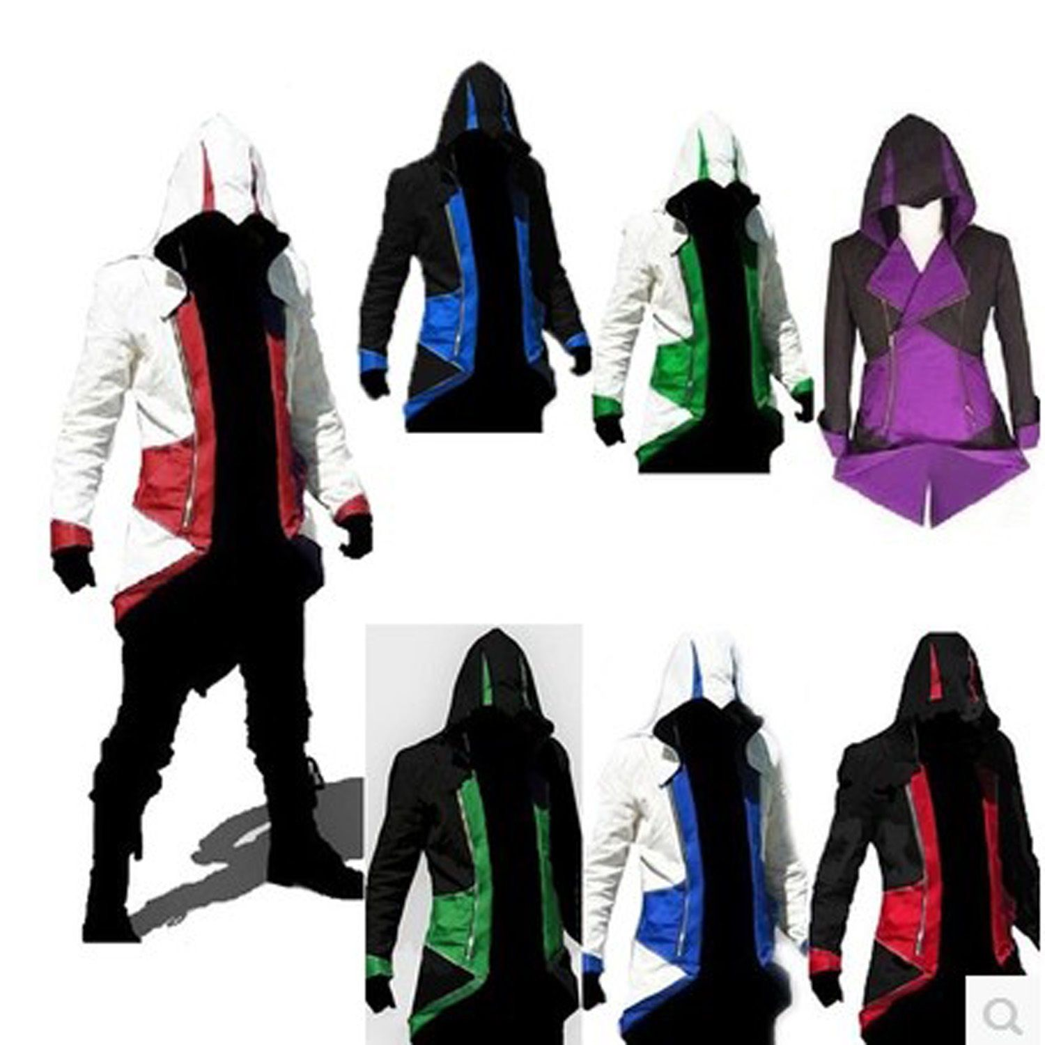2017 Cool Stylish Creed Hoodie Men's Cosplay For Assassins