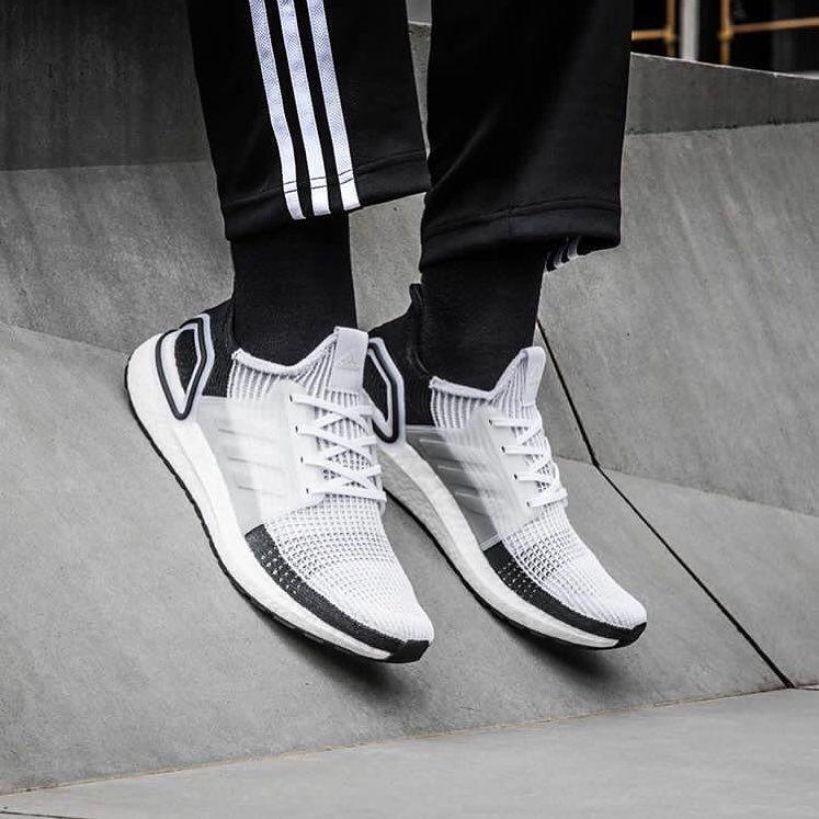 Adidas Originals Ultraboost 19 In Weiss B37707 Everysize Manner Turnschuhe Sneakers Mode Adidas Originals Sneaker