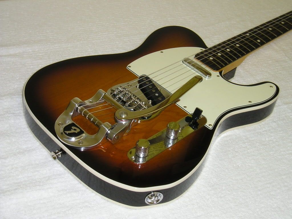 telecaster w bigsby tremolo music gear pinterest. Black Bedroom Furniture Sets. Home Design Ideas
