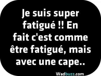 image drole fatigue