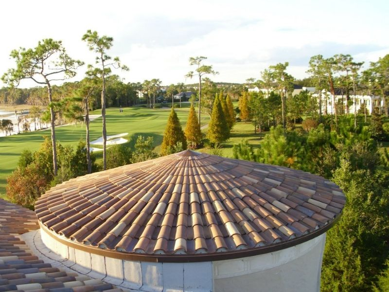Beautiful Orlando Clay Tile Roof By Premier Roofing Clay Tiles Roofing Roof Repair