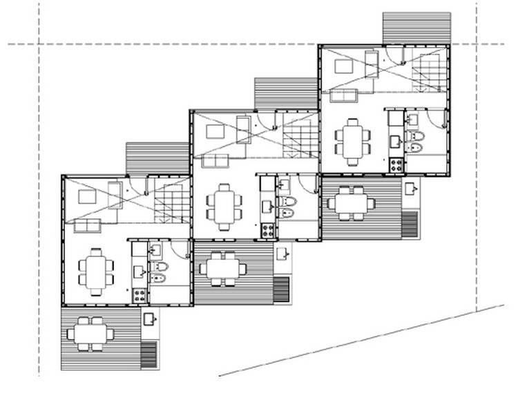 Casa modulada planta baja hogar pinterest casas for Casa moderna planta baja