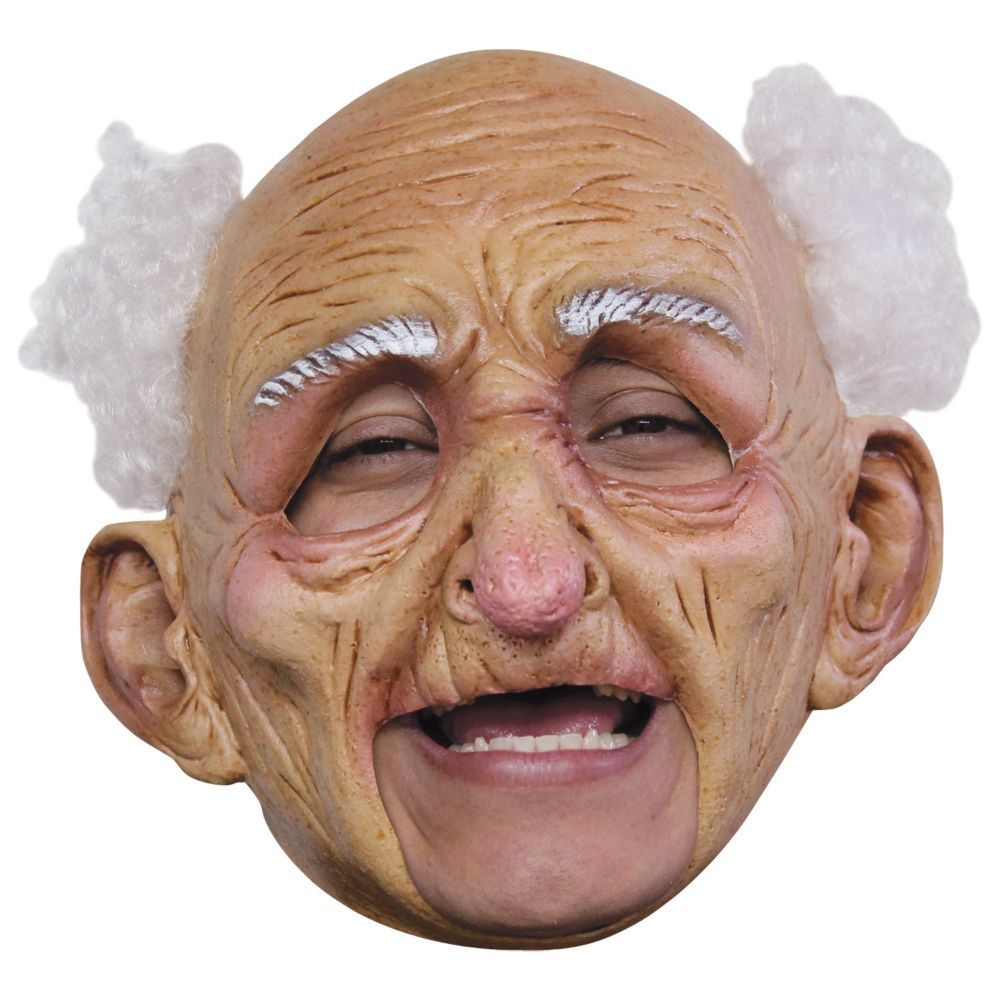 de gros magasin vente en ligne Adult's Deluxe Chinless Old Man Mask | Products in 2019 ...