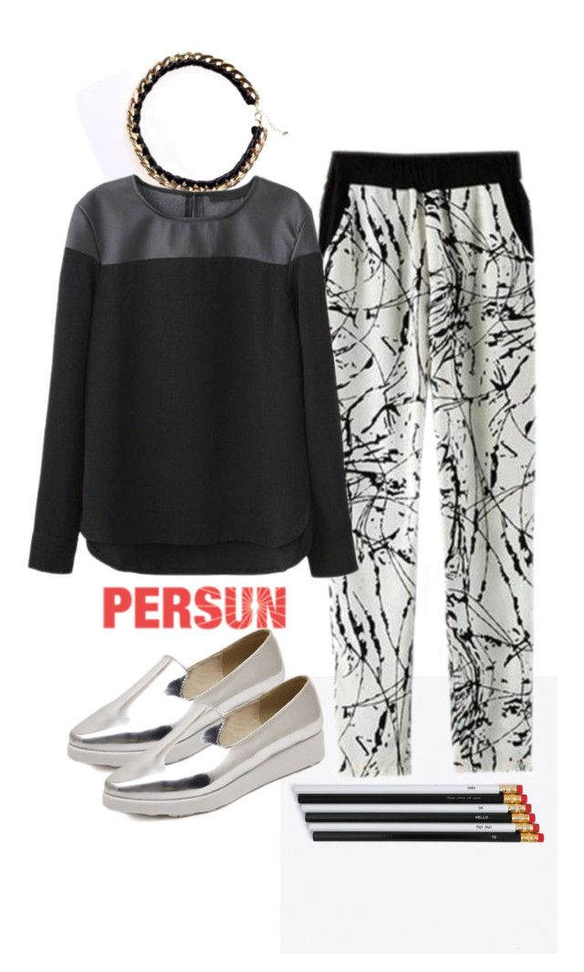 """""""Classic B&W"""" by pamela-802 ❤ liked on Polyvore"""