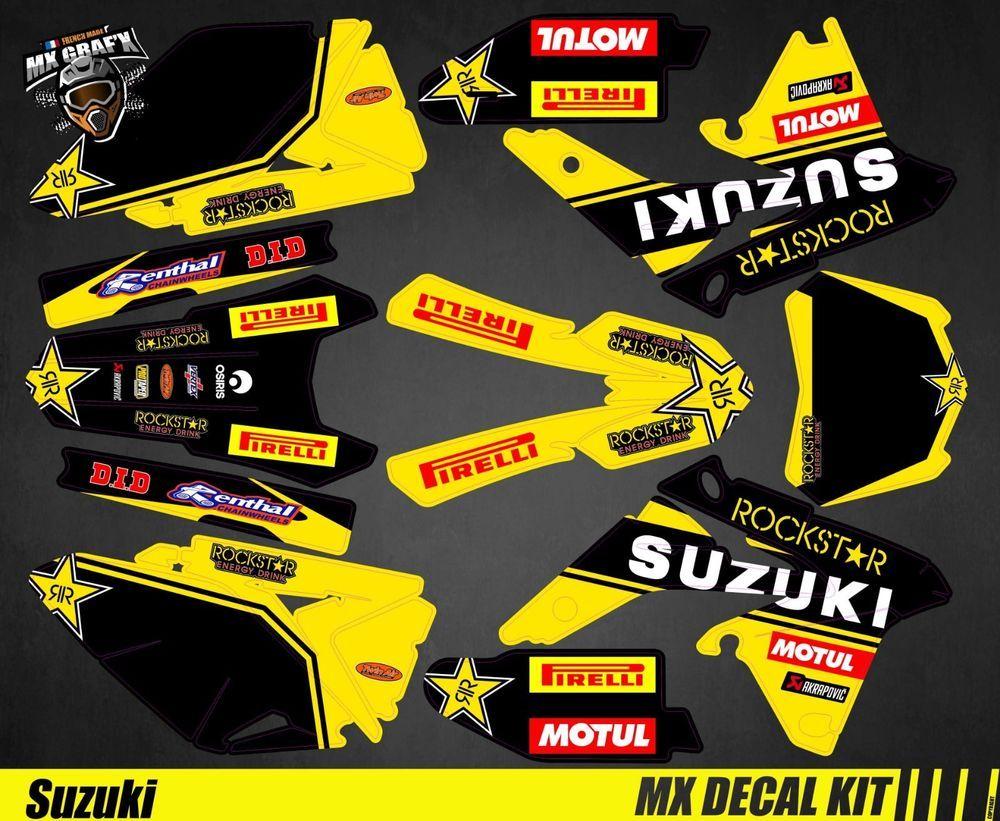 Makita Mx Decal Kit for Suzuki RM-Z Kit Déco Moto pour