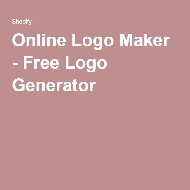 Best 25 Free Logo Generator Ideas On Pinterest Logo