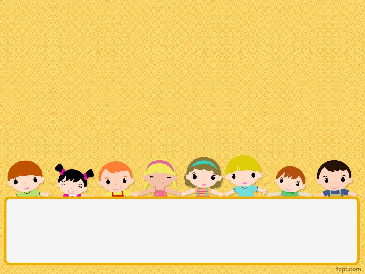 free children 39 s day powerpoint template is a template with children