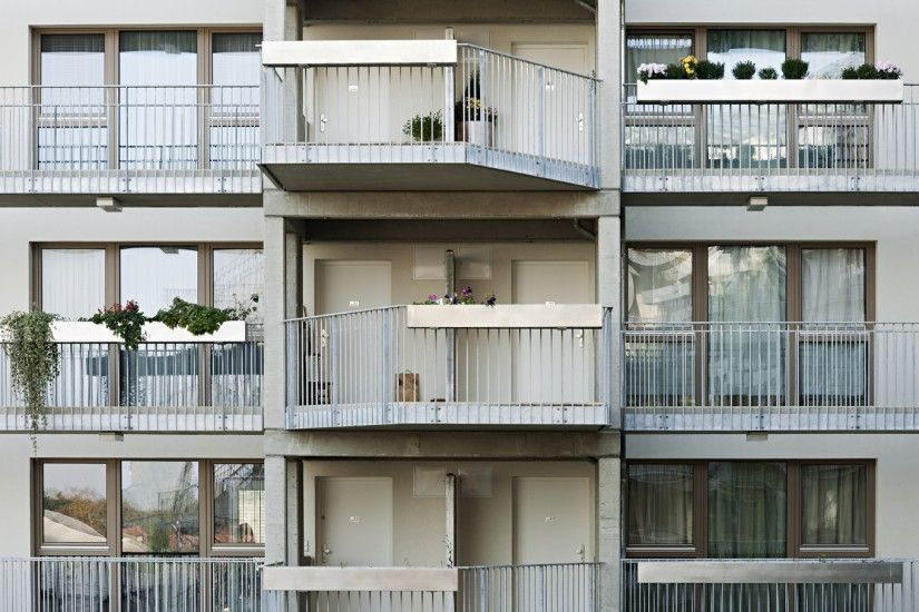 Social Housing - 96 units   AllesWirdGut