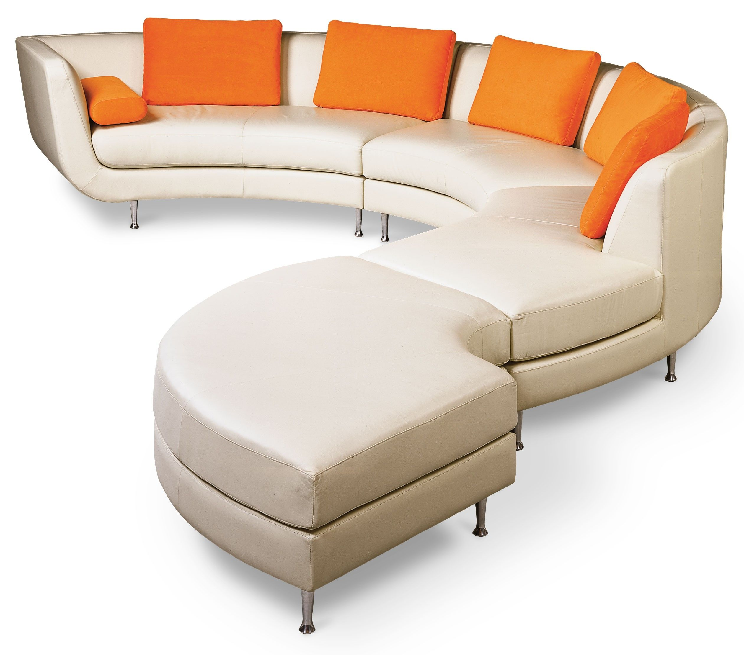 Awesome AMERICAN LEATHER Menlo Park Curvy Sofa