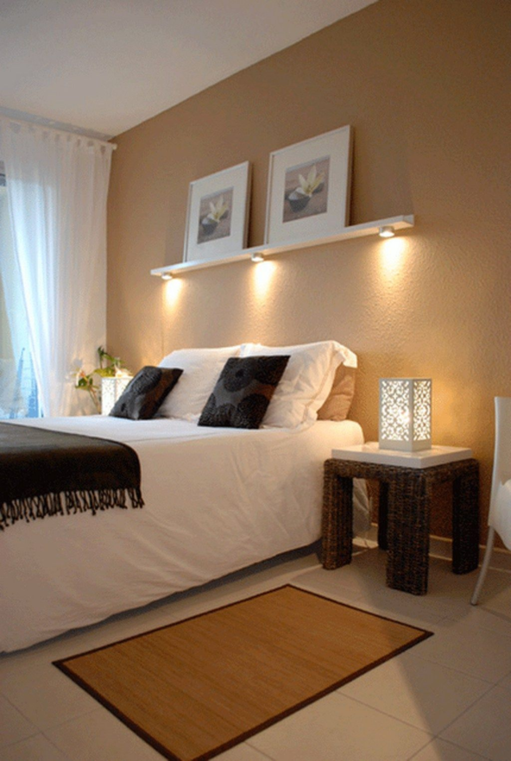 Best Creative Diy Headboard Ideas With Lights For Your