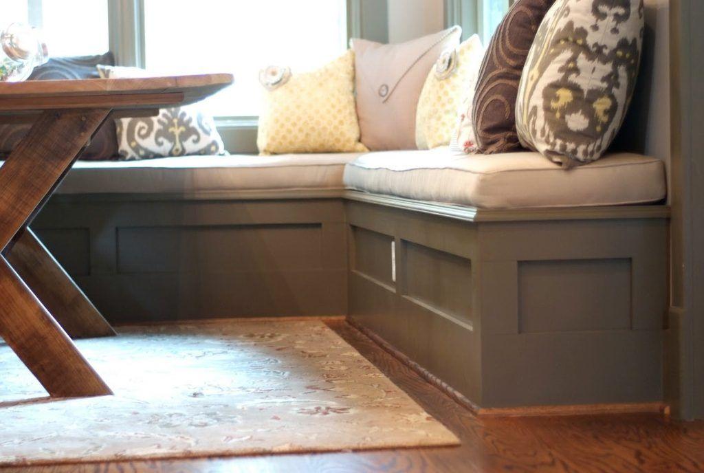 Nook Benches  Design Photos On Kitchen Nook Bench Dimensions Pollera Org Modern