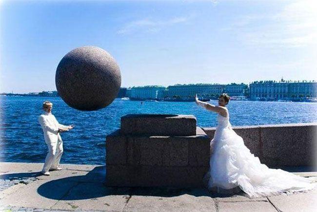 34 Thank You, Photoshop… Russian Wedding Photos are Bizarre, Part 2