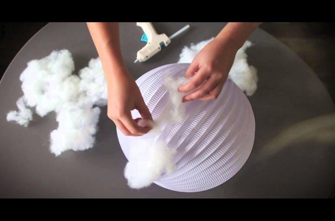 led wolkenlampe selber machen diy und selbermachen basteln geschenke basteln und lampen. Black Bedroom Furniture Sets. Home Design Ideas