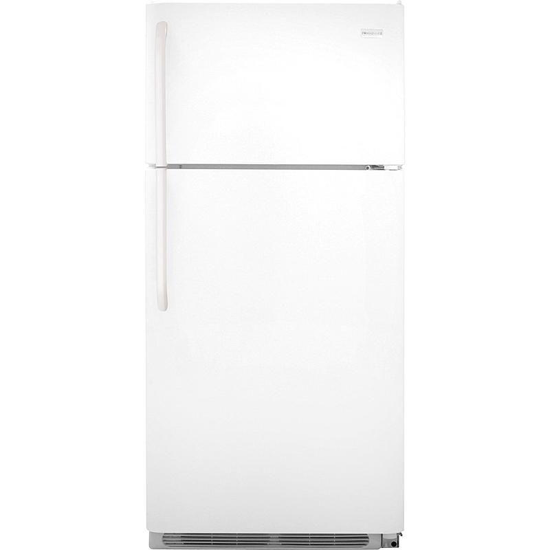 Frigidaire Fftr1814qw 18 Cu Ft Top Freezer Refrigerator