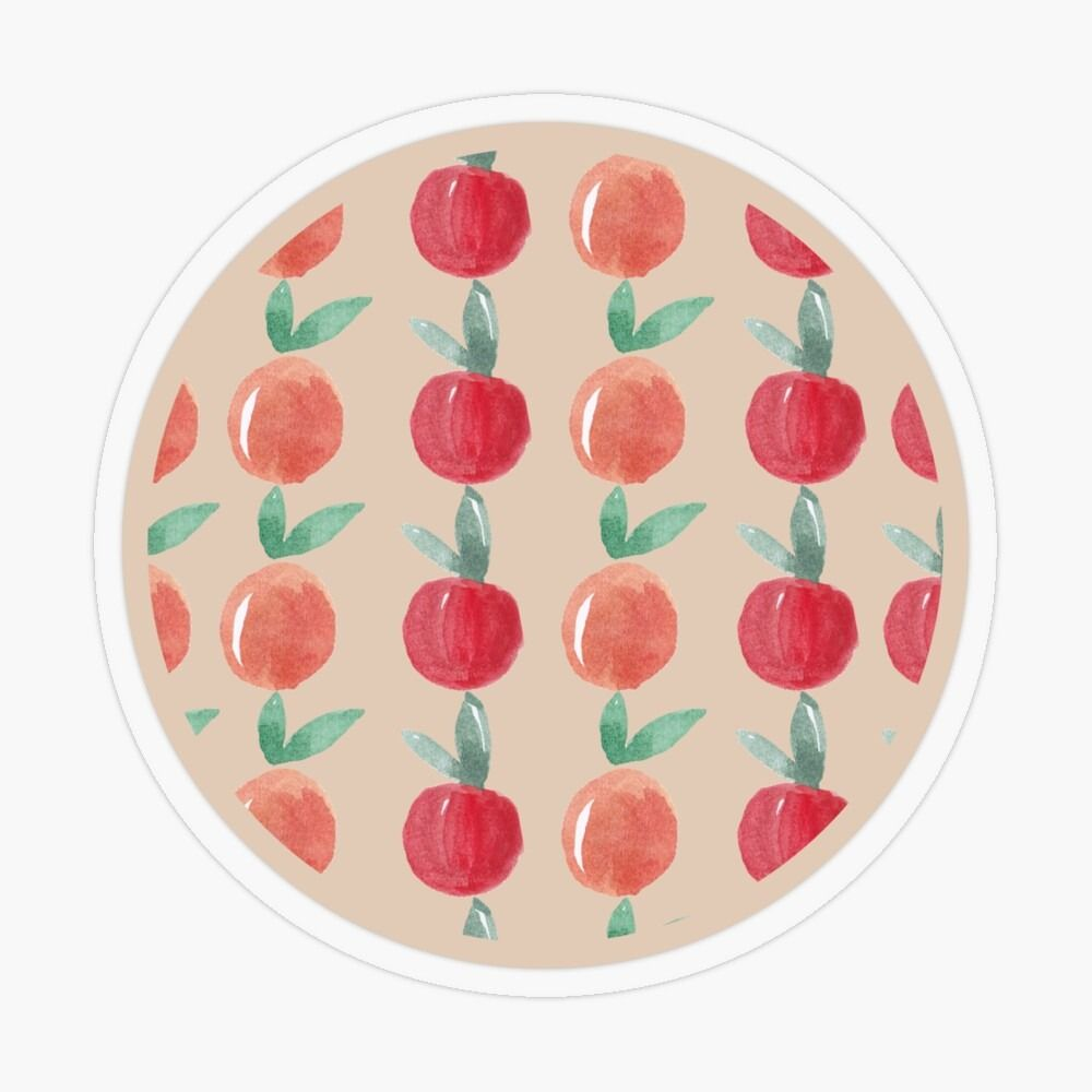 To all my fruit lovers, grab yourself a sticker! #peachessticker #peaches #transaprentsticker #glossysticker #whitesticker #stickerstobuy #stickersonline #redbubble #findyourthing #peach #circlestickers #patternstickers #fruitstickers #onlineshop #afforadablestickers #cutestickers #stickersforkids #stickersforhome #stickersforwork