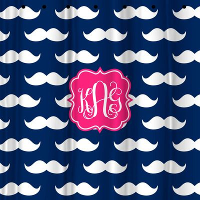 Monogram Shower Curtain, Personalized Custom Shower Curtain from Sassy Southern Gals #scentsyfridaythe13th