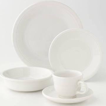 Explore Dinnerware Sets The White and more! white fiestaware  sc 1 st  Pinterest & white fiestaware | Ceramics | Pinterest