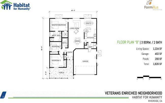 Habitat for humanity house floor plans thefloors co for Habitat for humanity house plans