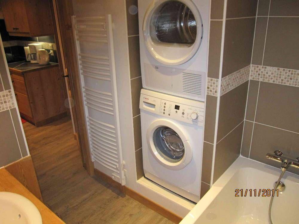 Descriptif appartement 6/8 lits   Lave linge salle de bain, Salle de bain, Lave linge