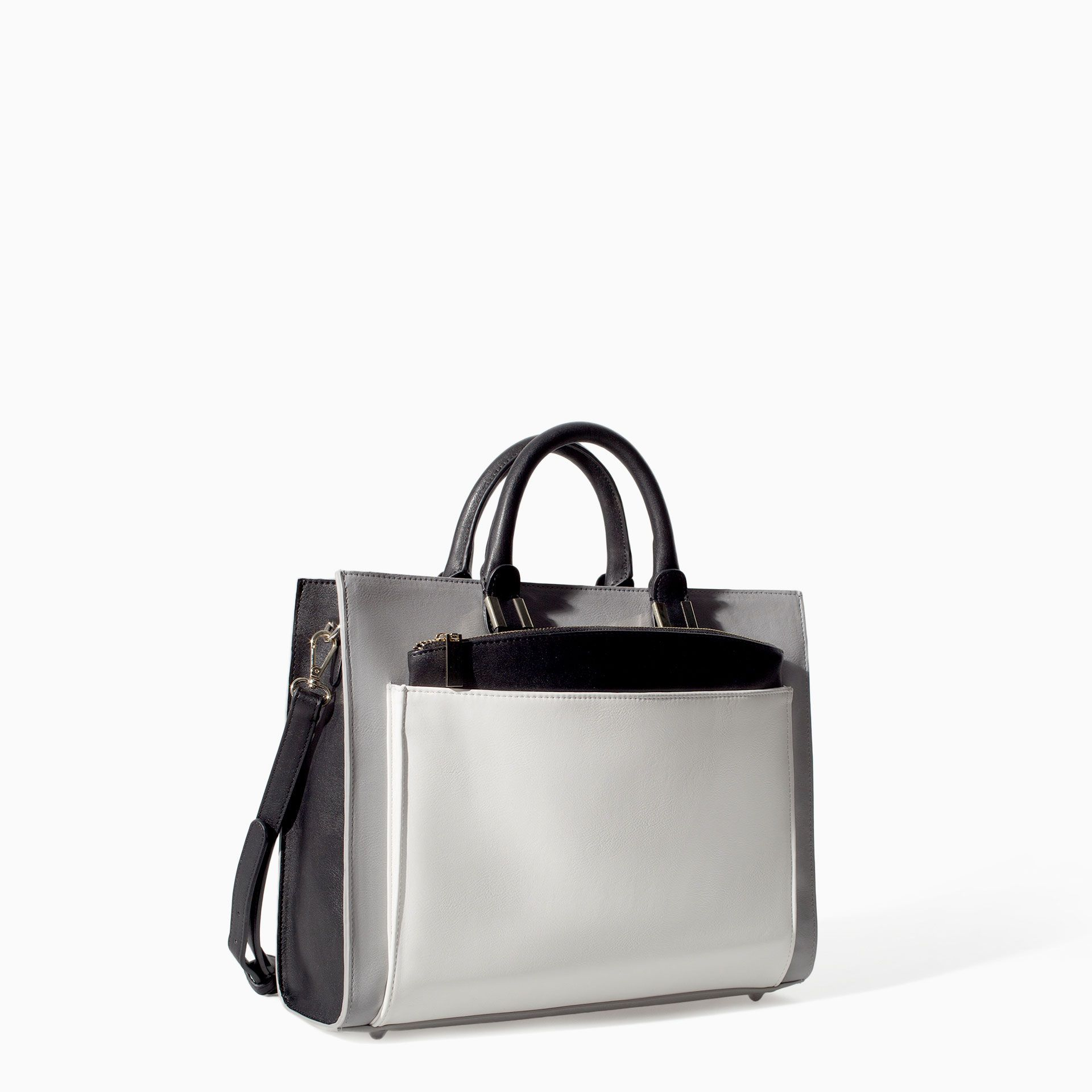 Image 2 of COMBINED OFFICE CITYBAG from Zara Fashion Generally
