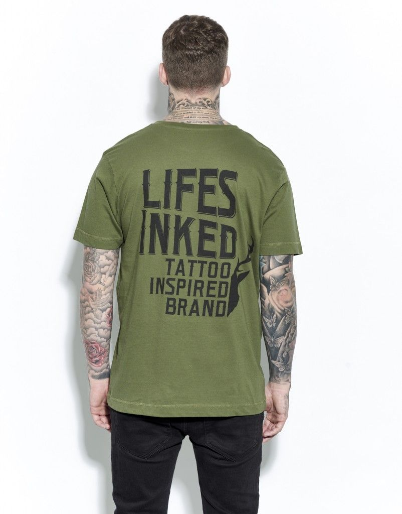 Inspired T-Shirt Forest Green