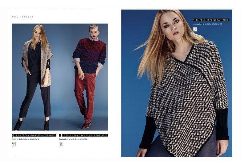 92f462ff5b46 Catalogue Homme et Femme Phildar, en vente dans notre boutique «Accessoires