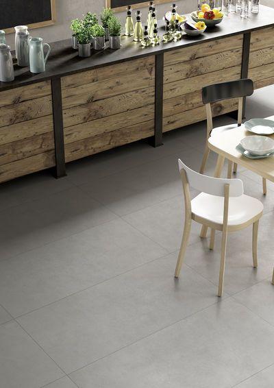 Block de Marazzi, gris - carreaux de sol et mur pour la salle de