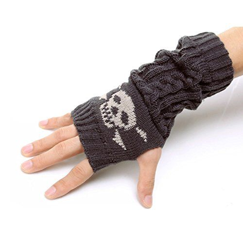 Flammi Skull Patterned Cable Knit Fingerless Gloves Thumb... https://www.amazon.com/dp/B0169OB3SI/ref=cm_sw_r_pi_dp_x_Bt87ybP3W9884