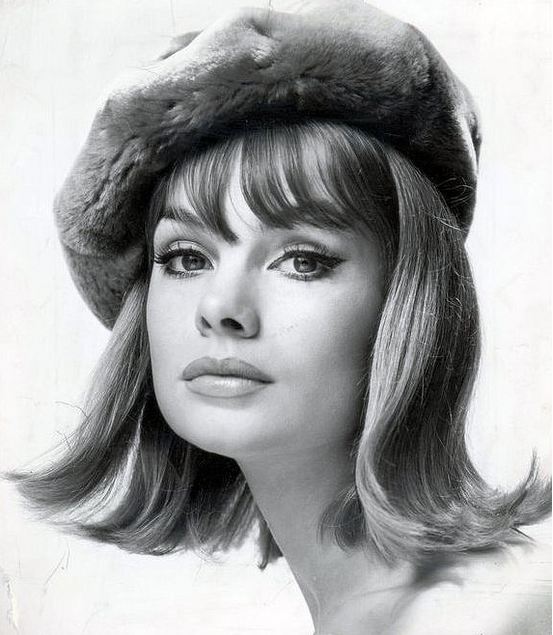 1960s Model Jean Shrimpton With The Very Popular Hairstyle Called A