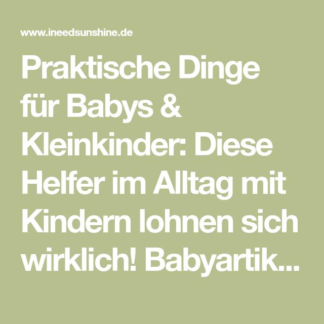 Nützliche Babygeschenke