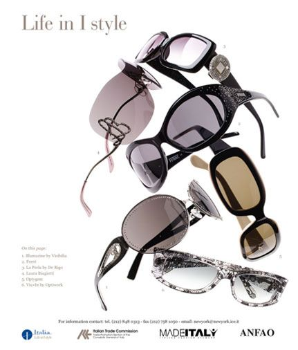 Italian Trade Commission, NY • Life in I-style - Advertising Campaign - 2004 Photo: Ken Ferdman, Creative Director: D. Gonzales