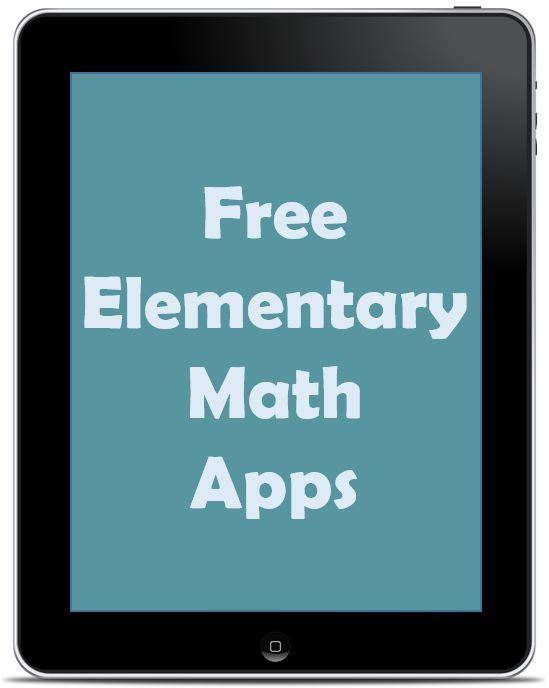 Free Elementary Math Apps   Elementary math, Maths and School