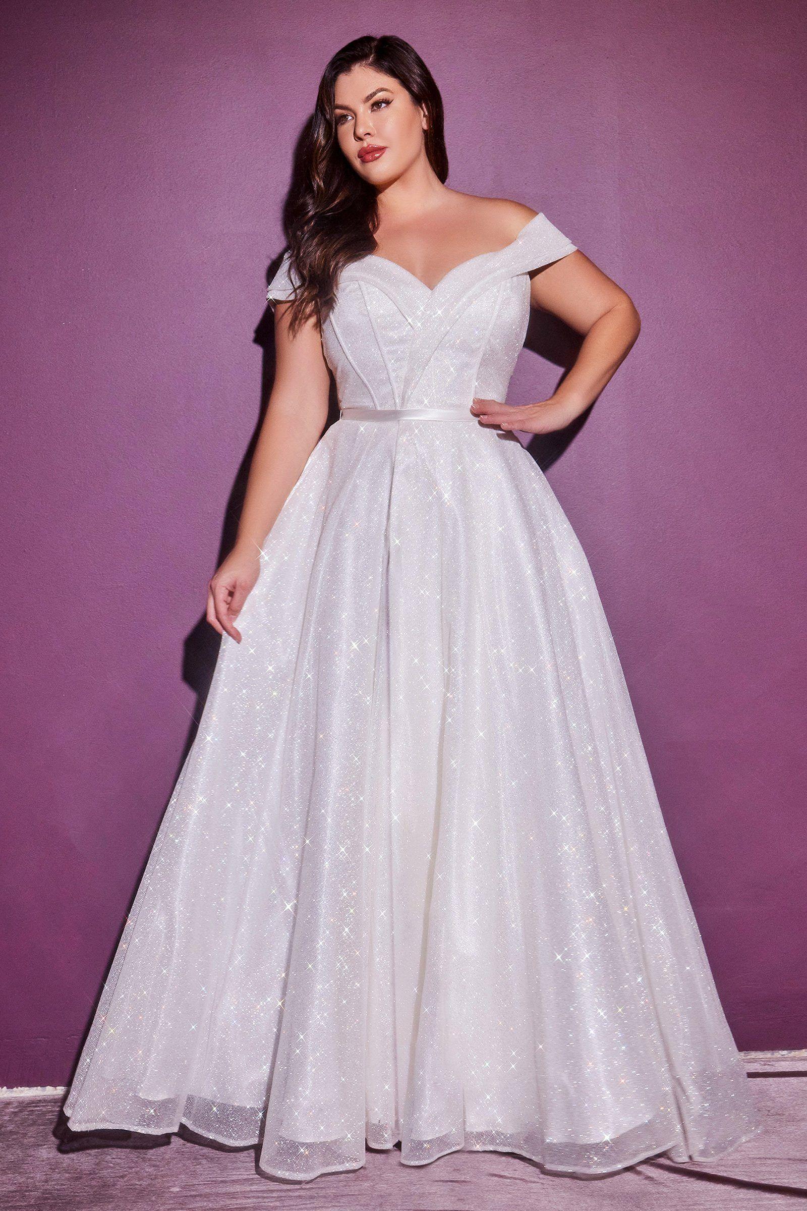 Glitter Bridal Ball Gown By Cinderella Divine Cd214w In 2021 Plus Wedding Dresses Glitter Wedding Dress Bridal Ball Gown [ 2400 x 1600 Pixel ]