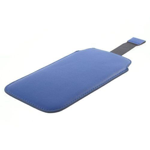 Mesh - Samsung Galaxy S6 Hoesje - Sleeve Pouch Blauw | Shop4Hoesjes
