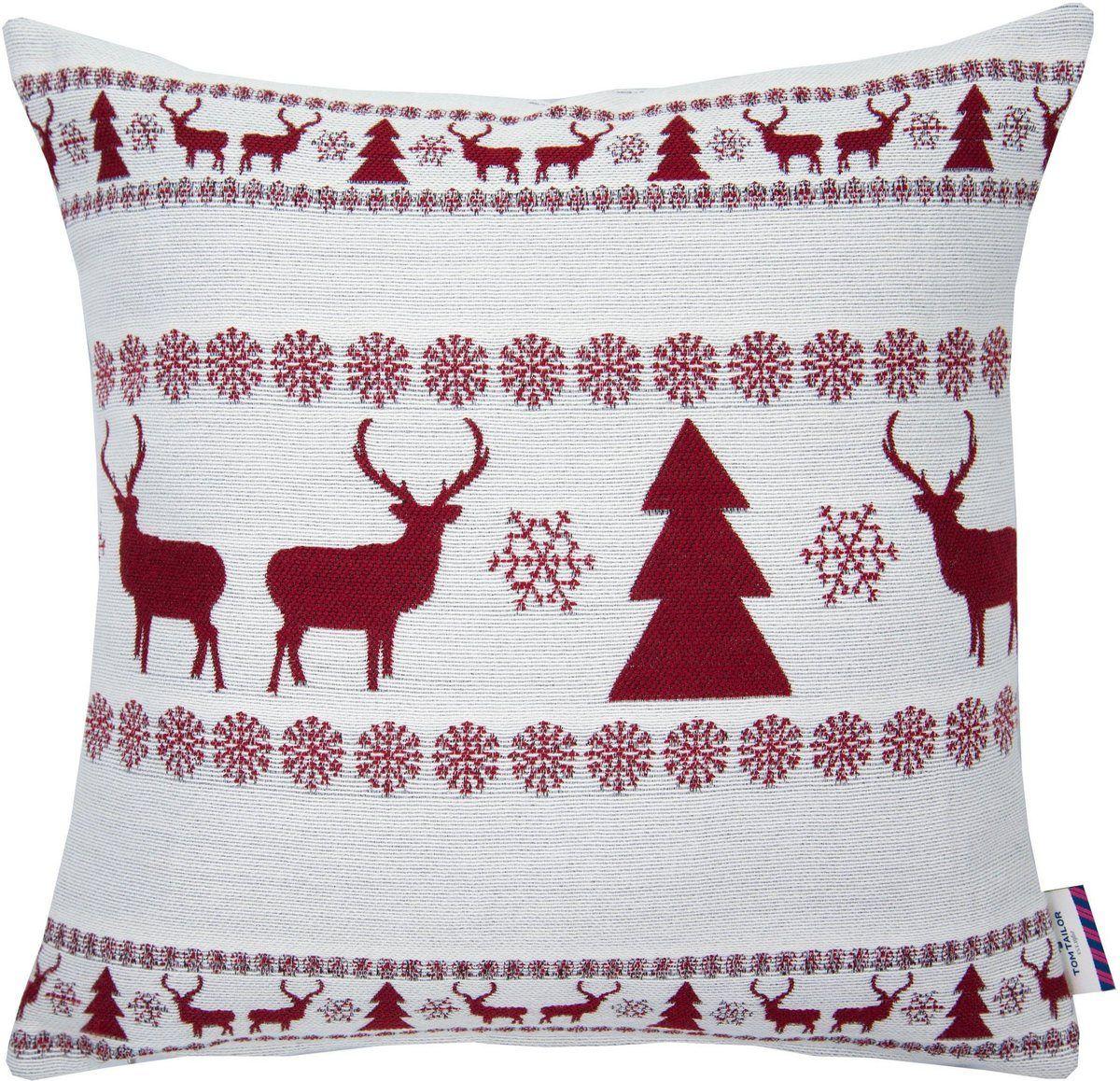 Kissenhulle Nordic Winter Tom Tailor Kaufen Kissenhullen